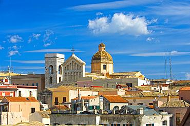 Cathedral, Castello, Cagliari, Sardinia, Italy, Europe