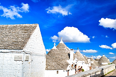 Beautiful Trulli of Alberobello, Italy.