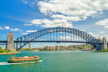 Sydney Harbor Bridge.