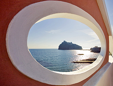 Ischia Ponte, schia island, Campania, Italy, Europe