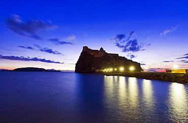 Aragonese castle, Ischia island, Campania, Italy, Europe