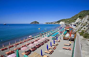 Maronti beach, Ischia island, Naples, Campania, Italy, Europe