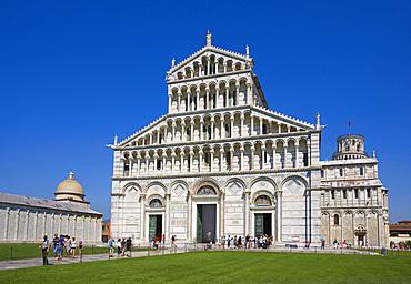 Piazza dei Miracoli, Pisa, Tuscany, Italy, Europe.