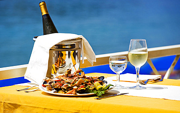 Food, Ischia island, Naples, Campania, Italy, Europe.