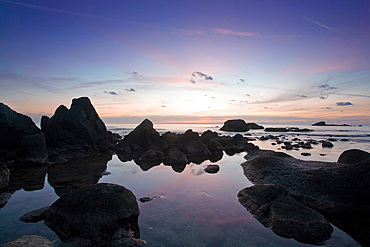 Cava beach, Ischia island, Campania, Italy, Europe
