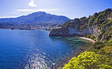 Monache beach, Lacco Ameno, Ischia, Campania, Italy, Europe