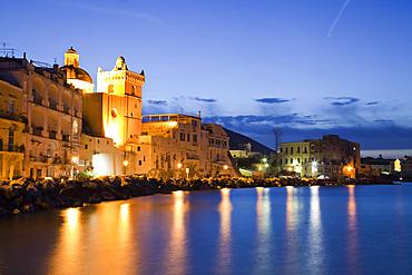 Ischia Cathedral, Ischia island, Campania, Italy, Europe.