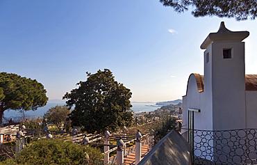 Villa Arbusto, Lacco Ameno, Ischia island, Campania, Italy, Europe