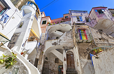 Vascello, Procida island, Naples, Campania, Italy, Europe.