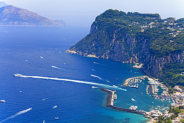 marina Grande, Capri island, Naples, Campania, Italy, Europe.