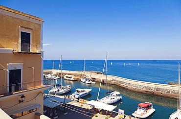 Ventotene island, Pontine Islands, Lazio, Italy, Europe