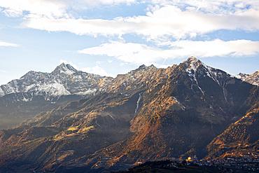 Gruppo tessa mountain, Merano Trentino Alto Adige, Italy.