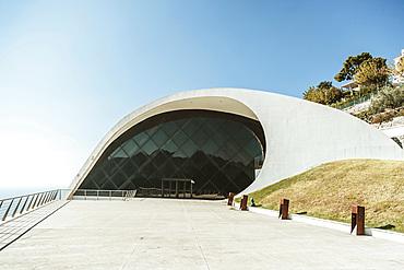 Oscar Niemeyer Auditorium, Ravello Amalfi soast, Campania, Italy, Europe