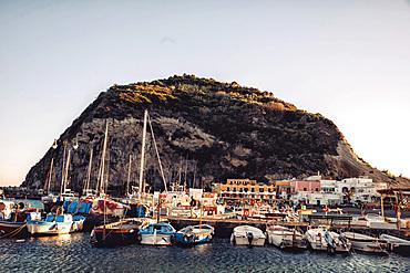 Sant'Angelo village, Ischia Island, Campania, Italy, Europe