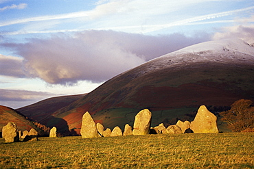 Castlerigg Stone Circle, Keswick, Cumbria, England, United Kingdom, Europe