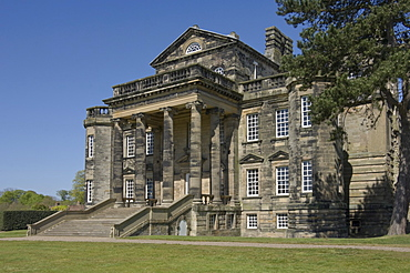 Delaval Hall, designed by Sir John Vanbrugh in 1718 for Admiral George Delaval, Seaton Delaval, Northumbria, England, United Kingdom, Europe