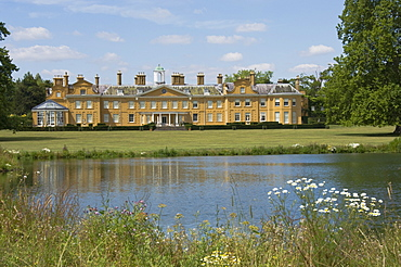 Stratfield Saye, the home of the Duke of Wellington and still the family home, Reading, Berkshire, England, United Kingdom, Europe