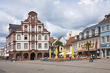 The Town Hall in the main square, Speyer, Rhineland Palatinate, Germany, Europe