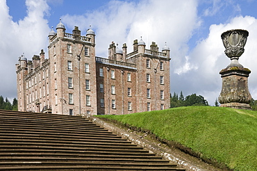 The 17th century Renaissance Palace (The Pink Palace), built by the 1st Duke of Queensberry, Dumfries and Galloway, Scotland, United Kingdom, Europe