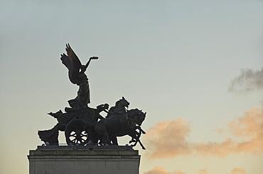 Detail of Wellington Arch, Hyde Park Corner, London, England, United Kingdom, Europe