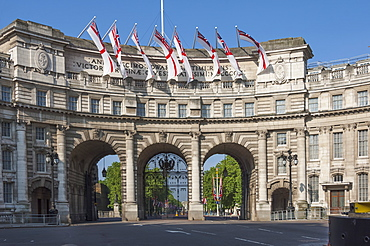 Admiralty Arch, between The Mall and Trafalgar Square, London, England, United Kingdom, Europe
