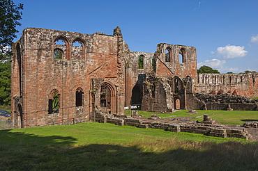 The 12th century St. Mary of Furness Cistercian Abbey, Cumbria, England, United Kingdom, Europe