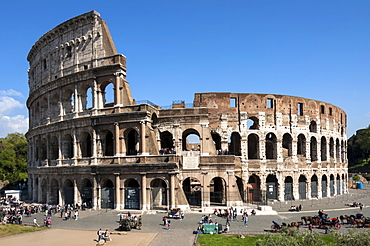Colosseum, Ancient Roman Forum, UNESCO World Heritage Site, Rome, Lazio, Italy, Europe