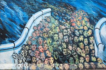 Graffiti, Berlin Wall, Berlin, Germany, Europe