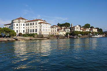 Royal Palace, Isola Bella, Borromean Islands, Lake Maggiore, Piedmont, Italian Lakes, Italy, Europe