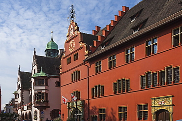 Haus zum Walfisch [Whale House], Freiburg im Breisgau, Black Forest, Baden-Wurttemberg, Germany, Europe