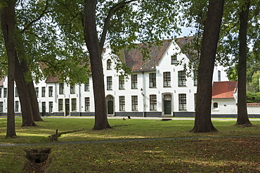 Bequinage, a retreat for Religious Women, Bruges, Belgium, Europe