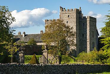Sizergh Castle, South Kendal, Cumbria, England, United Kingdom, Europe