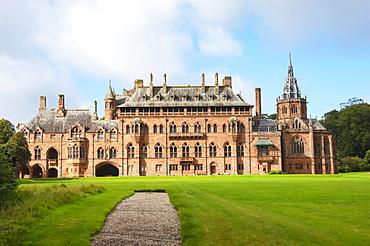 Exterior, Mount Stuart House, Bute, Western Isles, Scotland, United Kingdom, Europe