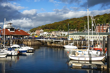 Harbour area, Rothesay, Isle of Bute, Western Scotland, United Kingdom, Europe