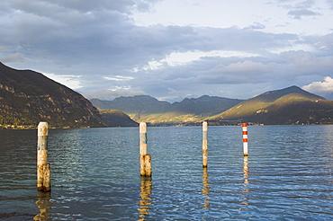 Lago d'Iseo, Lombardia, Italy, Europe