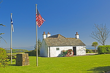 The home of John Paul Jones, considered to be the founder of the American navy, situated on the Solway coast, Dumfries and Galloway, Scotland, United Kingdom, Europe