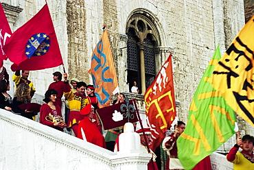 Pageantry, Gubbio, Umbria, Italy, Europe