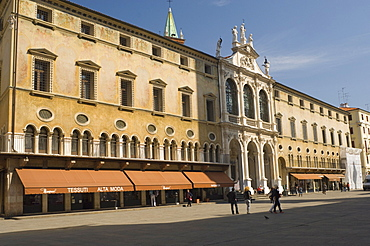 Loggia del Capitaniato, Vicenza, Veneto, Italy, Europe