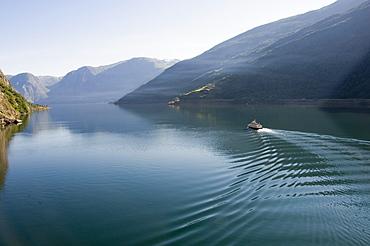 Morning stillness, Fjordland, Norway, Scandinavia, Europe