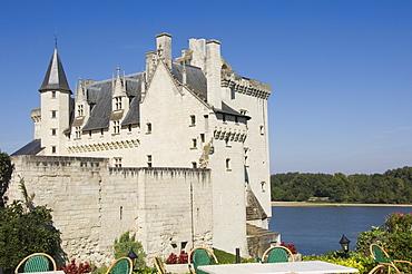 Chateau Montsoreau on the Vienne River, Maine-et-Loire, Pays de la Loire, France, Europe