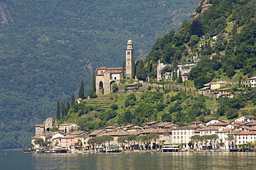 Morcote, Lake Lugano, Switzerland, Europe