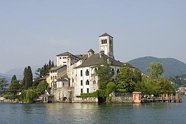 Isola di San Giulio, Lake Orta, Italy, Europe