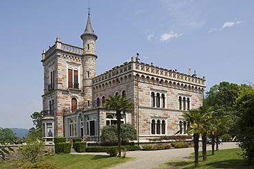 Castello Miasino, above Lake Orta, Piedmont, Italy, Europe