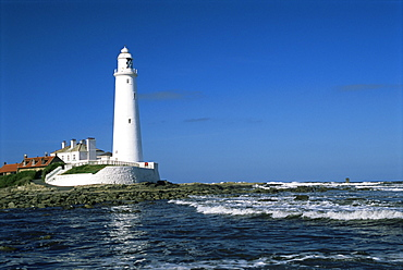 St. Mary's Island, Whitley Bay, Tyne and Wear, England, United Kingdom, Europe