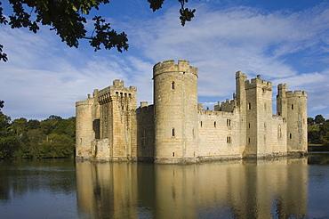 Bodiam Castle. East Sussex, England, United Kingdom, Europe
