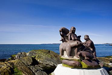 Monument, Nuuk, Greenland, Arctic, Polar Regions