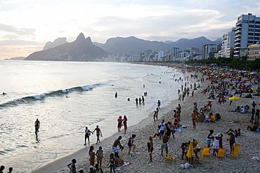 Ipanema beach, Rio de Janeiro, Brazil, South America  - 749-1130