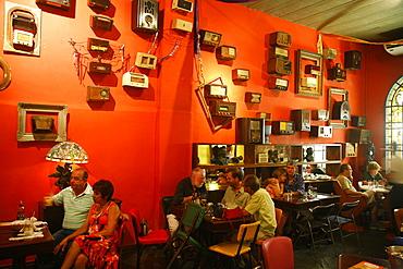 Rio Scenarium Club in the Lapa area, Rio de Janeiro, Brazil, South America