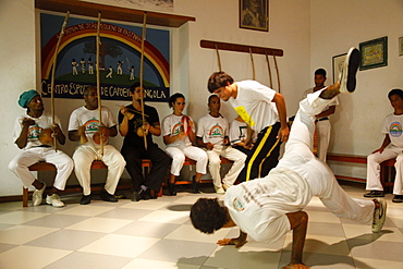 Capoeira class, Salvador (Salvador de Bahia), Bahia, Brazil, South America