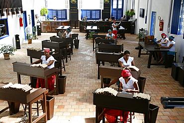 Women making cigars at the Dannemann factory in Sao Felix, Bahia, Brazil, South America